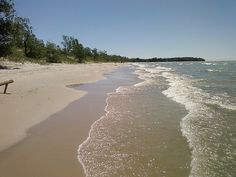 Sandbanks Provincial Park, Belleville, Ontario....thinking of hammocks!