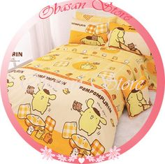 Obasan Store - Sanrio Pom Pom Purin Fitted Sheet