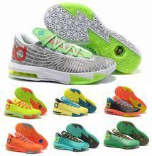 93e836ebfb1f 2014 New Brand Men KD 6 basketball shoes Easter Christmas BHM Illusion  kevin vi durant Away PBJ Ice Cream HOME Liger on sale(China (Mainland))
