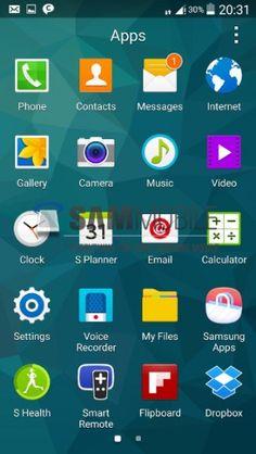Preview Android L di Samsung Galaxy S5 http://www.aplikanologi.com/?p=30484