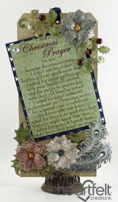 Heartfelt Creations | Christmas Prayer Tag