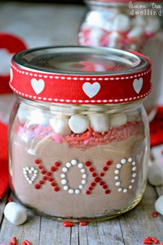 | Valentine's Day Gift Jars