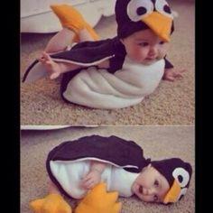 Baby in a penguin suit! #suitedup