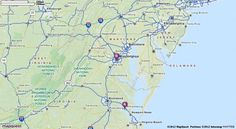 Driving Directions from Williamsburg, Virginia to Ronald Reagan Washington National Airport (DCA) in Washington, District of Columbia 20001 | MapQuest