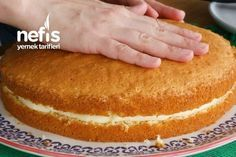 Pratik Alman Pastası Tarifi (videolu) – Nefis Yemek Tarifleri Practical German Pie Recipe (with video) – Delicious Recipes Rice Recipes, Bread Recipes, German Cakes Recipes, Homemade Beauty Products, Vanilla Cake, Yummy Food, Delicious Recipes, Wedding Cakes, Pie