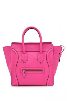 Perfect in pink! The Celine Mini Luggage Shopper - www.reebonz.com/invite_code/pinterestau