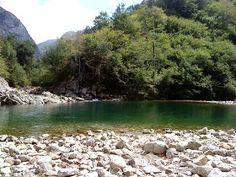 Rutas de senderismo Asturias: RUTA DEL RIO DOBRA OLLA DE SAN VICENTE Asturias (AMIEVA - CANGAS DE ONIS)