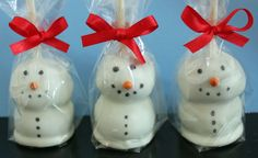 Frosty Brownie Pops @Julie Hostetler