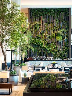 hotel arquitectura The Lobby Lounge Shangri-La Hotel Singapore Lounge Design, Hotel Room Design, Restaurant Design, Hotels Near Disneyland, Hotel Safe, Shangri La Hotel, Shangri La Singapore, Lobby Lounge, Lounge Chair
