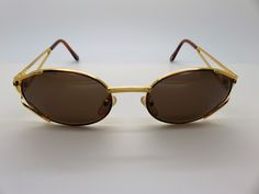 9b611dc4155 Genuine Rare Vintage Gianni Versace Sunglasses Mod Col New Old Stock by VSOx  on Etsy
