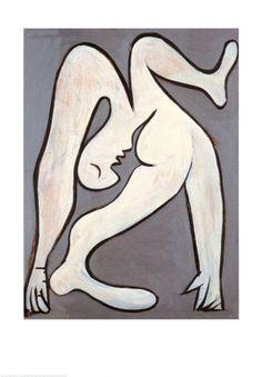 The Acrobat, c.1930  Pablo Picasso
