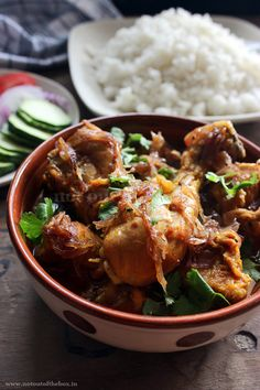 'Country Captain Chicken' was a popular dish which was developed during the British Raj in India.
