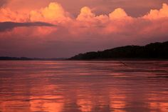 Sunset at Inkaterra Reserva Amazonica by Jorge Mazzotti