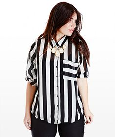 Walk The Line In 13 Of Spring's Perfect Plus-Size Stripes