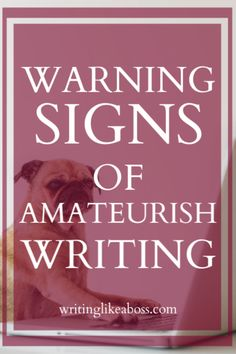 Creative Writing 109845678399170283 - 10 Warning Signs of Amateurish Writing & How to Fix Them Source by mordjana Creative Writing Tips, Book Writing Tips, Writing Words, Fiction Writing, Writing Process, Writing Resources, Writing Help, Writing Outline, Writing Workshop