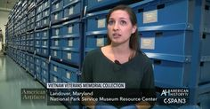 Fascinating video clip about the archived items left at the Vietnam Memorial Wall over the years!