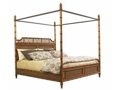 Shop for Tommy Bahama Home West Indies 6/0 California King Bed, 531-165C, and other Bedroom Beds at Kanes of Sarasota Furniture in Sarasota, FL. Let the breeze and sound of the waves waft over you in this stylish bedroom set with its bamboo-like posts and natural finishings.