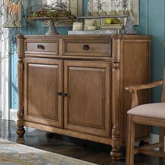 Moultrie Park Sideboard.  This is sort of California-ish. Would look nice in my dining room.