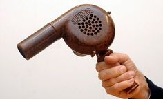A Bakelite hairdryer, just one of many retro items from the 1930s and 1940s