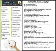 Coconut oil / Kokosový olej