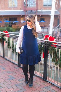 Velvet Party Dress Dressed Down | Coffee Beans and Bobby Pins
