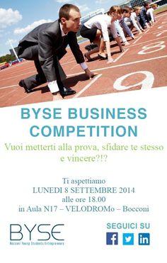 "Locandina di ""BYSE Business Competition"""