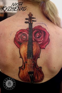 violin tatto