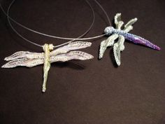 Hand crafted dragon fly necklace available at CRETAIVATION-CHELSEA just in time for summer.