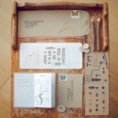 Sending unique wedding invitations is able to give the first impression to the guests. There are some ideas of unique wedding invitations to apply. Unique Wedding Invitations, Rustic Invitations, Wedding Stationary, Stationary Set, Handmade Wedding, Diy Wedding, Woodsy Wedding, Wedding Photos, Wedding Card