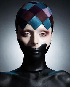 Hair & Masks Viktoria Otto, D. Machts Group, Berlin | Photo Heks Sascha Haubold | Post Nina Post | Make-up Janine Bohn