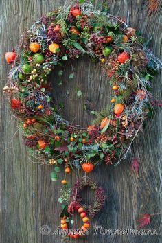 Xmas Wreaths, Autumn Wreaths, Door Wreaths, Dried Flower Wreaths, Dried Flowers, Fall Kitchen Decor, Fall Decor, Picture Wreath, Dried Flower Arrangements