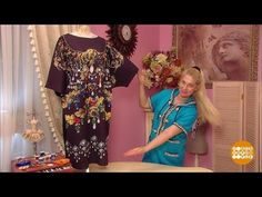 832cd7221db Платье-балахон от Ольги Никишичевой. 05.04.2017 - YouTube