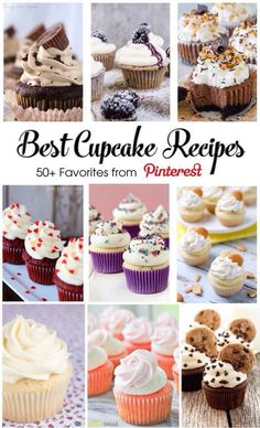 Most Loved Cupcake Recipes- A Pinterest Best List | Frosted Events