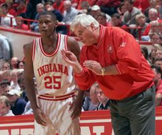 The Top 10 College Basketball Coaches of All-Time - The Grueling Truth Basketball Shoes Kobe, Indiana Basketball, Basketball Finals, Basketball Coach, Basketball Players, Bob Knight, Top 10 Colleges, Indiana University, Coaching