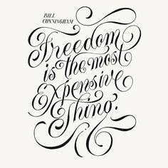 Freedom by @novia_jonatan - Daily typography love - #typostrate -  typostrate.com