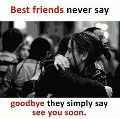 Yes i hate goodbyes