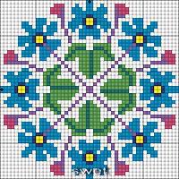 "ru / - Album ""Schemes mine, not my performance))"" Biscornu Cross Stitch, Cross Stitch Tree, Cross Stitch Flowers, Counted Cross Stitch Patterns, Cross Stitch Designs, Cross Stitch Embroidery, Embroidery Patterns, Patchwork Quilt Patterns, Tapestry Crochet"