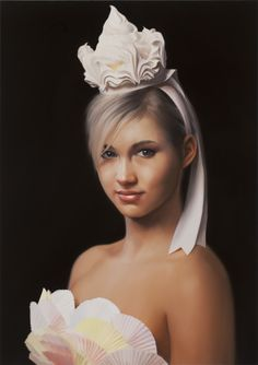 I love her headpiece!- Will Cotton