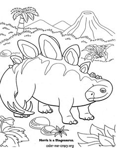 Free Printable Dinosaur Train Coloring Pages for Kids Andrew