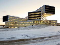 Volumetric Intersections: Statoil Regional and International Offices by A-Lab