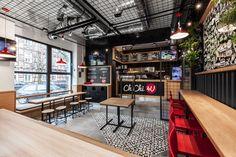 """다음 @Behance 프로젝트 확인: """"ChiChi 4U Burger Bar"""" https://www.behance.net/gallery/35125727/ChiChi-4U-Burger-Bar"""