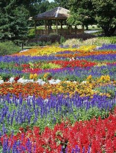 International Peace Garden, Dunseith, ND | Straddling the U.S.-Canadian border amidst the