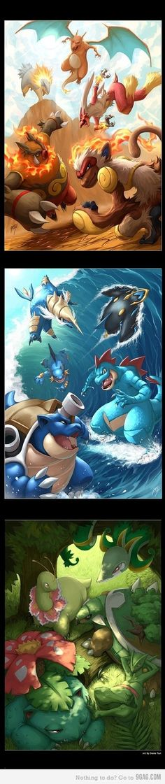 Inicial pokemons