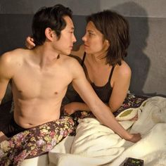 The Walking Dead SSN7 SPOILERS, awe im already missing this couple man the FEELS!!!!! UGHHHHH!!!!
