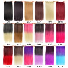 Synthetic Clip-in One Piece Radient Shangke Single Clip In One Piece Hair Extensions Synthetic Long Straight Made 70 Colors Ombre Red Hair Pieces Quality First
