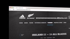adidas All Blacks all undefeated in 2013  by Iris Worldwide Sidney