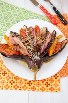 beautifulpicturesofhealthyfood:  Grilled vegetables with...