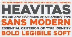 Free Font Of The Day : Heavitas