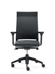 SLAT 16 work chair, with high backrest