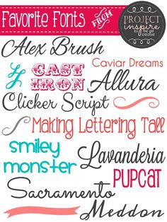 free fonts the creative girls
